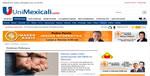 pagina web Unimexicali.com